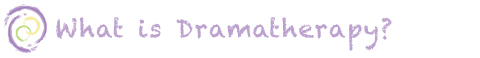 what is dramatherapy button
